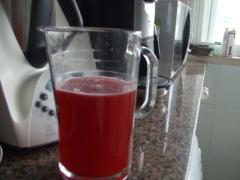 Sumos de fruta na Bimby